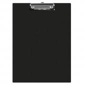Клипборд без капак А4, черен