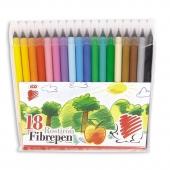 Флумастери Ico 300, 18 цвята