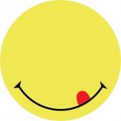 Самозалепващи листчета усмивка 70х70мм 50л