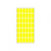 Етикети за цени 17х30, жълти, 420бр