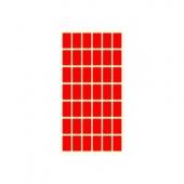 Етикети за цени 17х30, червени, 420бр