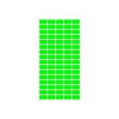 Етикети за цени 12х22, зелени, 800бр
