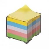 Цветен хартиен куб в PVC поставка, 800л