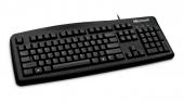 Клавиатура, Microsoft Wired Keyboard 200 USB English Black For Business