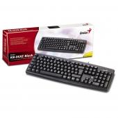 Клавиатура, Genius KB-06XE, Black - стандартна USB клавиатура