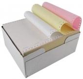 Безконечна принтерна хартия 240/11/3 цветна