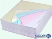 Безконечна принтерна хартия 240/11/4 цветна