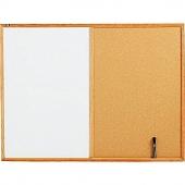 Комбинирано табло с дървена рамка 40 х60см