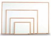Бели табла с дървена рамка