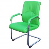 Посетителски стол 8.6040, зелен